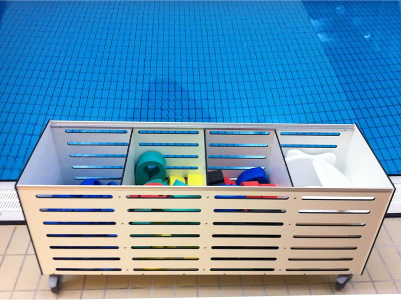 Storage Cabinets For Towels Swimming Belts Flippers